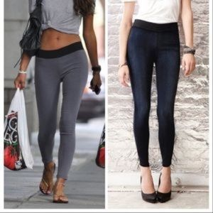 GOLDSIGN Jem Skinny Denim Leggings